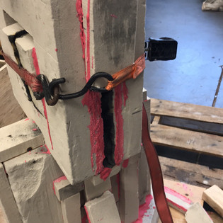 CNC sand mold creation