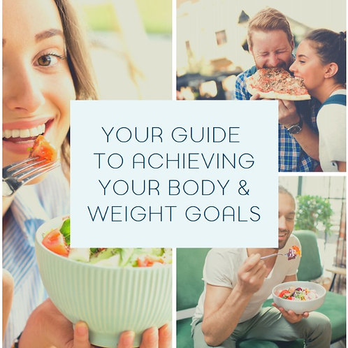 Your guide to achieving your body & weight Goals