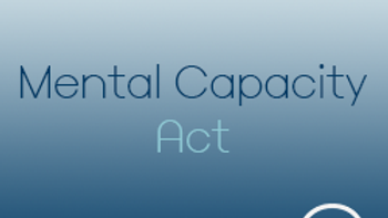 Mental Capacity Act (CPD)