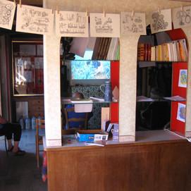La caravane à Callac et projection au café associatif - août