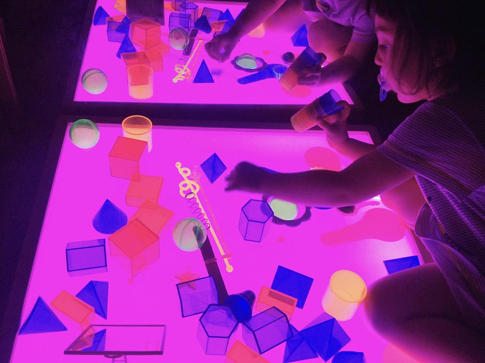 pedagogía de la luz, taller de luz, ponle un tipi