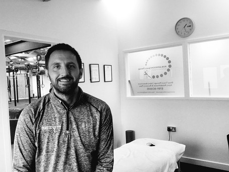 Why I became a Sports Therapist