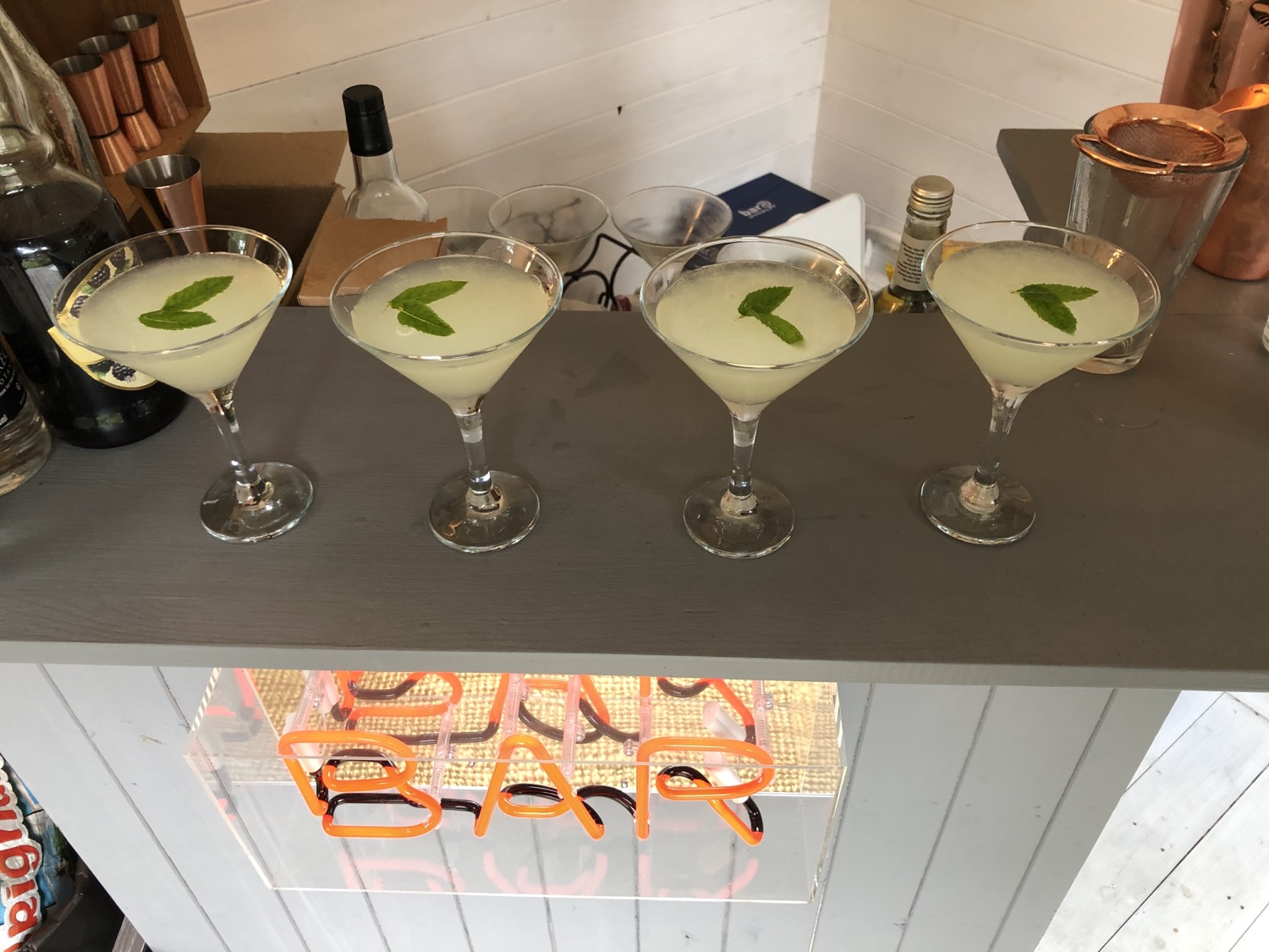 Southside Gin Cocktails at Home in the G