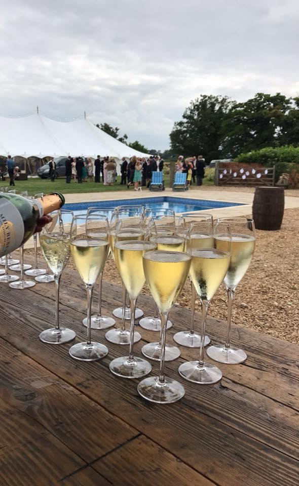 Fizz Wedding Drinks Reception Service