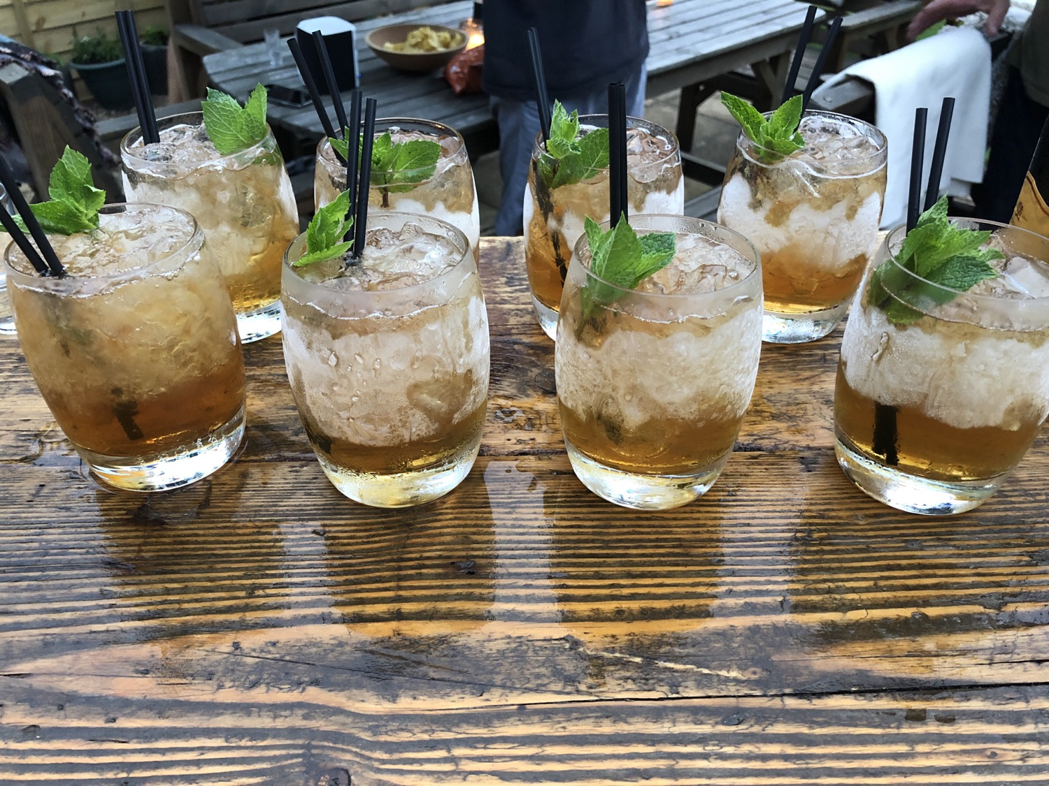 Mint Julep Cocktails at Home