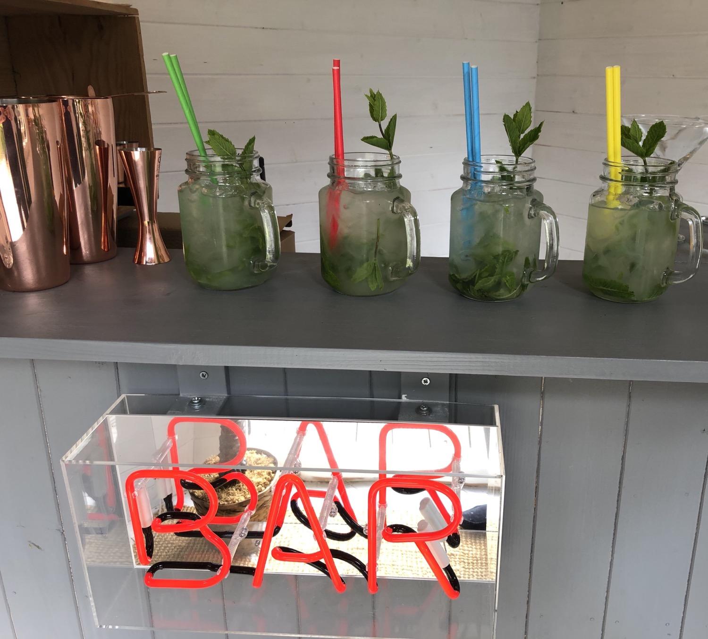 Mojitos in the garden Cocktail Bar