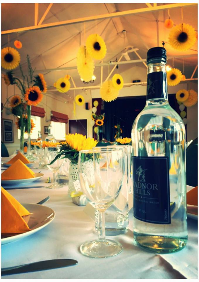 Wedding Breakfast with Table Wine and Water