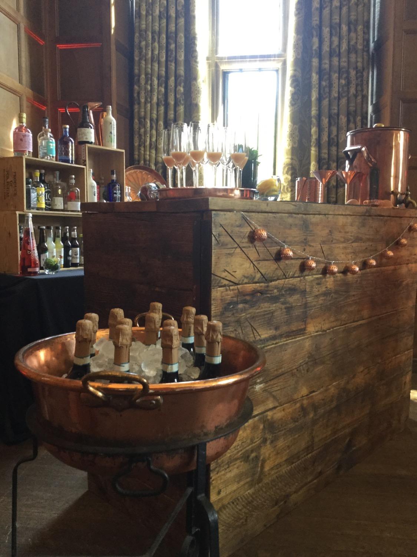 Wedding Bar at Yarnton Manor, exclusive use Wedding Venue in Oxfordshire