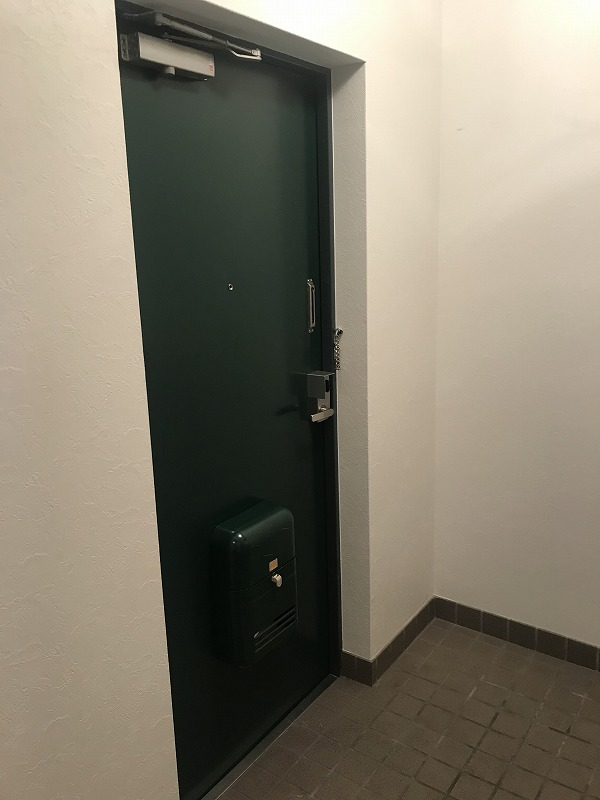 グランパレ塚口 玄関