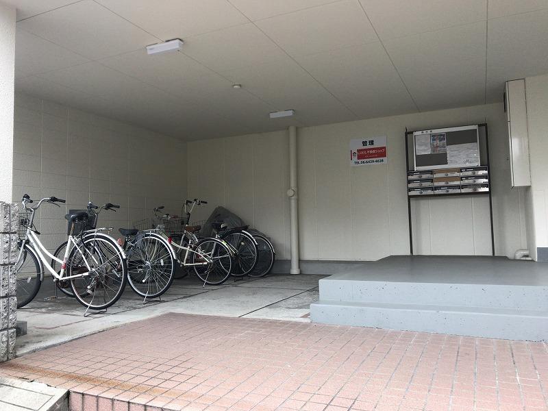 パルコート西内 駐輪場