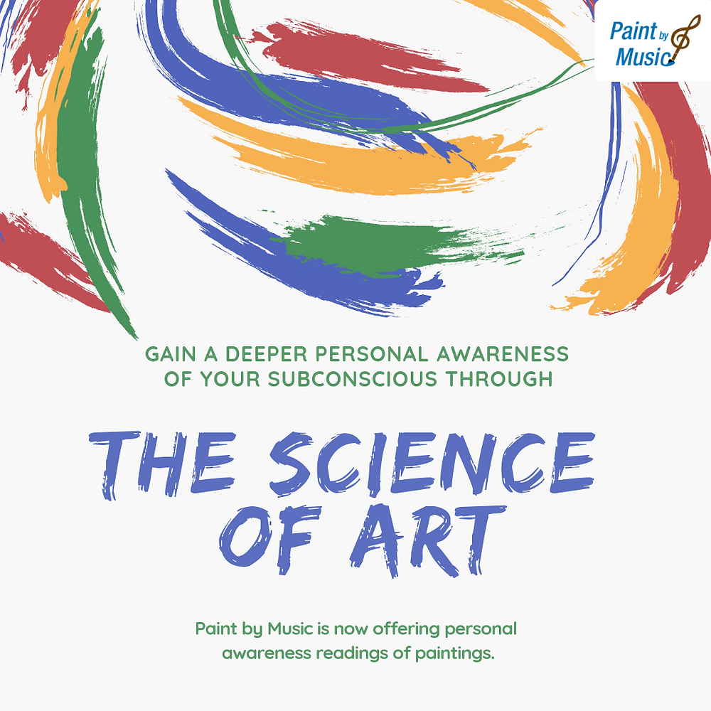 Paint by Music now offering personal awareness readings of your paintings.