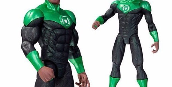 DC Comics - The New 52: Green Lantern John Stewart Action Figure