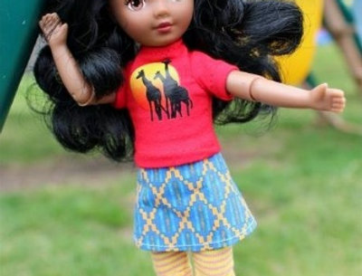 Travel Friends™ Doll International Collection Kenya 7 inch Play Doll