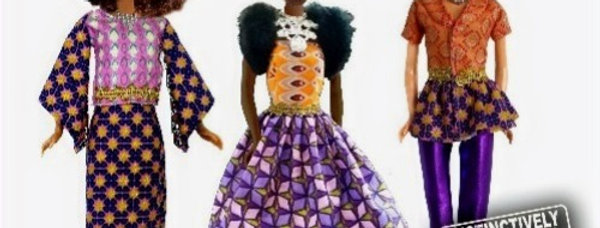 Queens of Africa Trinity Pack - 3 Doll package