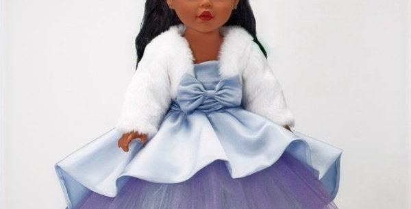 Madame Alexander Blue Shimmer Princess African American Doll