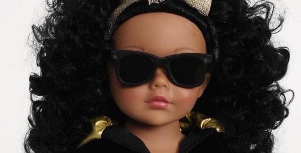 "Madame Alexander Isaac Mizrahi - Wild About Leopard 18"" African American Doll"