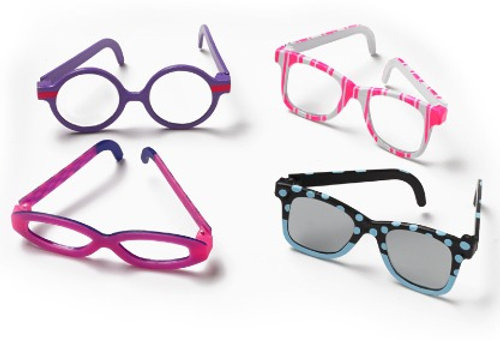 "Eyeglass wear pack for 18"" Doll, Favorite Friends By Madame Alexander"