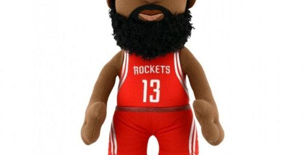 "NBA Houston Rockets® James Harden 10"" Plush Figure (Scarlet Red Jersey)"