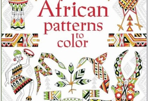 African Patterns to Color Coloring Book