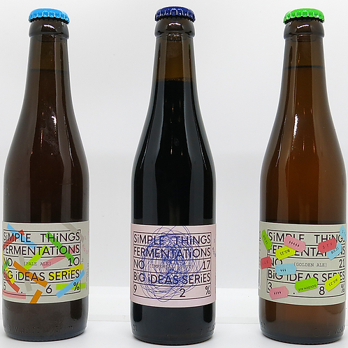 3 Bottle Gift Box - Pale Ale, Imperial Stout & Golden Ale
