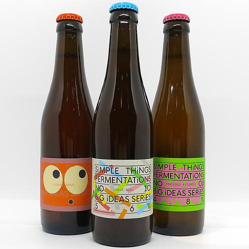 3 Bottle Gift Box - Pale Ale, Twisted Pilsner & Ginger Beer