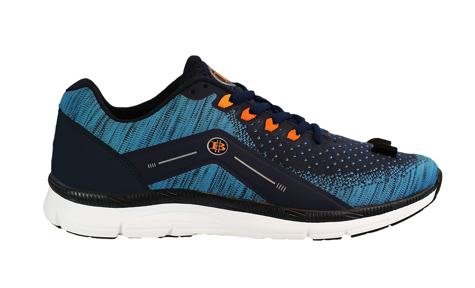 High-Beam-Night- Runner-Men's- LED- Light-Shoe-Blue