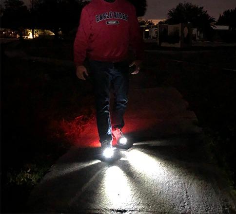 Men's LED Shoes-Night Runner