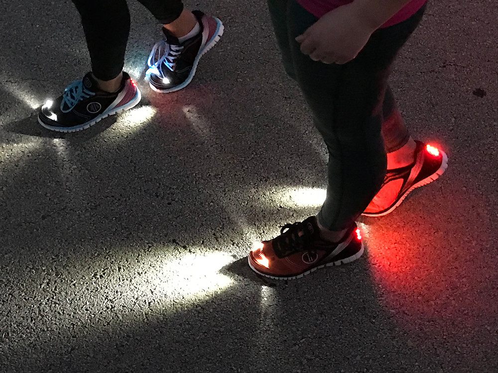 High Beam Led walking Shoes for Women