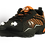 Men's Ridge Runner LED Light Hiking Shoes-(Orange/Black) Front View