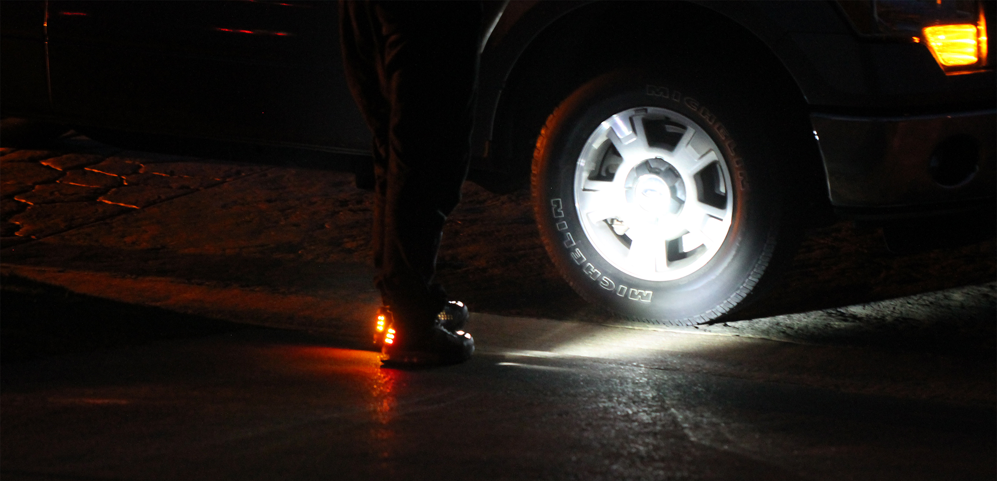 High Beam LED Headlight Shoes