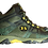 Men's -LED Light Hiking Boot  Green Camouflage-Side View
