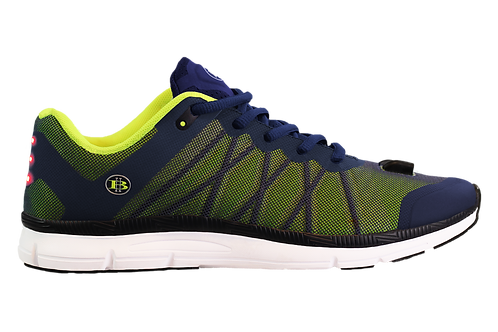 Mesh Night Runner LED Shoes Mens (Lime)