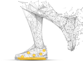 Footwear that Monitors vitals