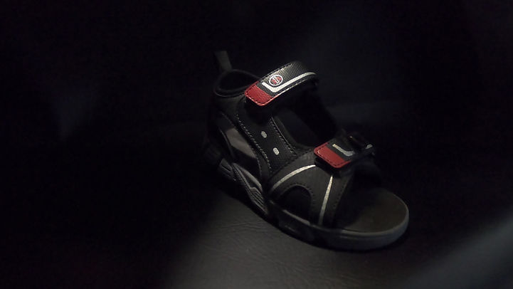 Kids Rechargeable Headlight Sandal from High Beam Shoes