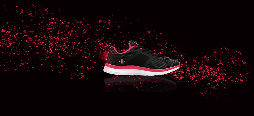 led running shoes - High Beam Night Runners Shoes