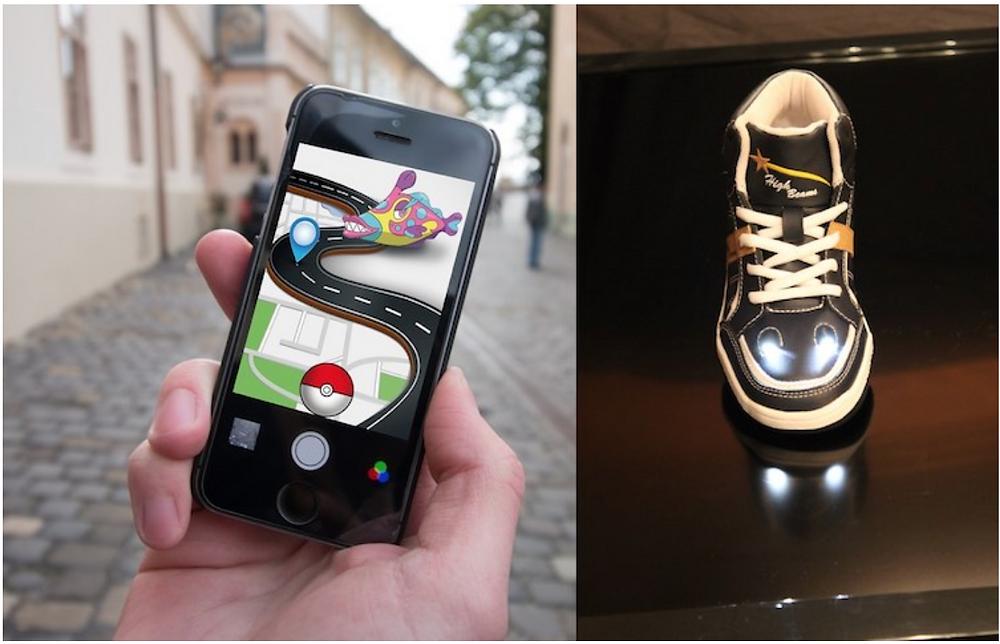 High Beam Pokemon go shoes