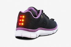 Women's Night Runner Shoe - Black/Pink