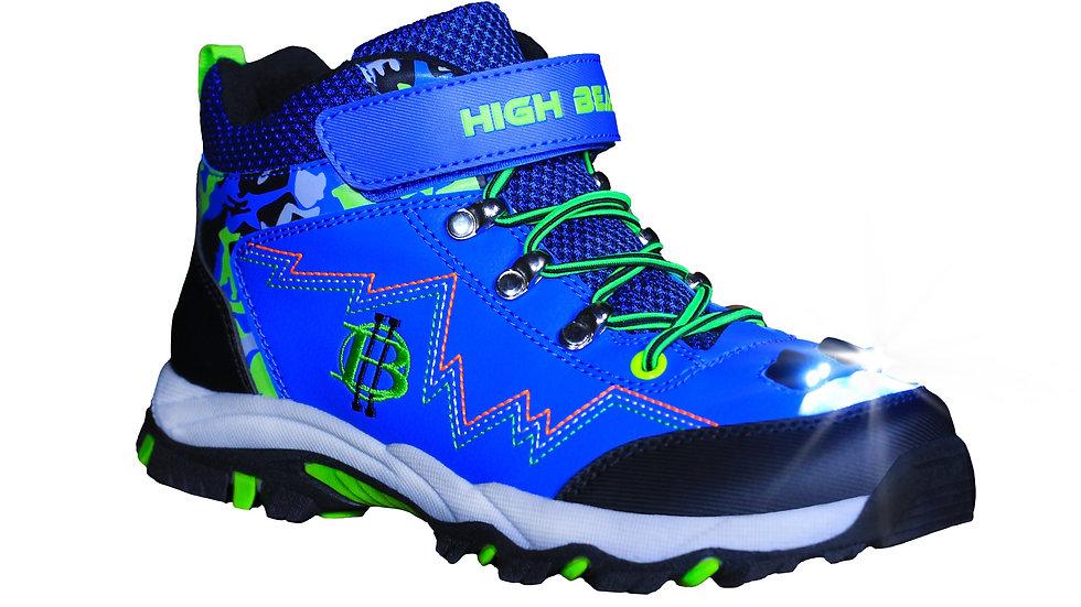 High Beam-Kids's-Night hiking Boot (Blue) Front
