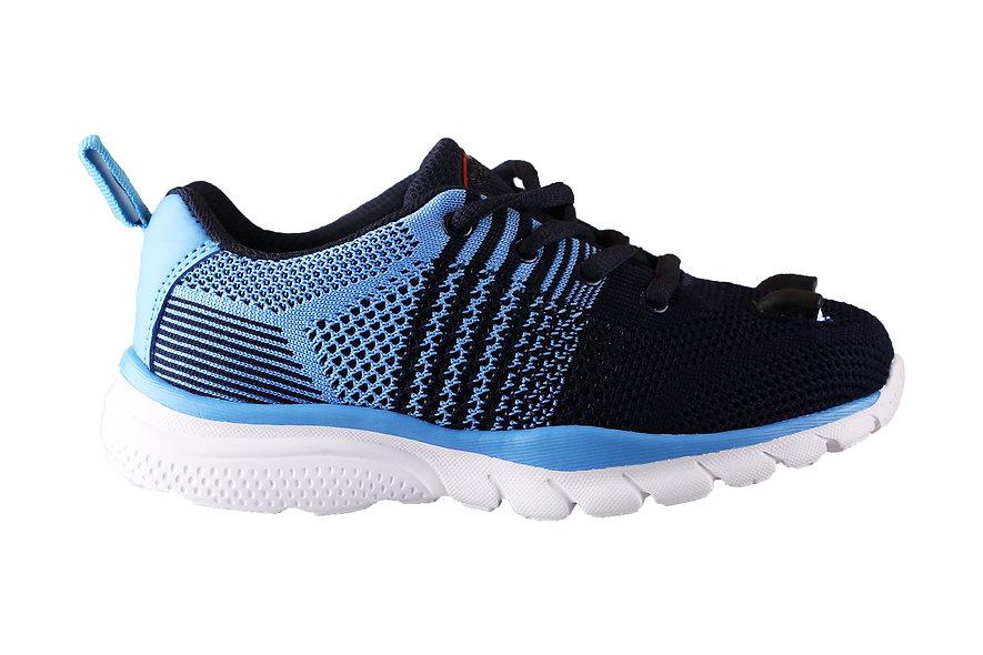 Little Kid's LED Knit Shoes  (Dark Blue)