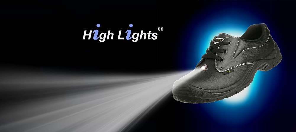 Vitals monitoring led light shoes by High Beam