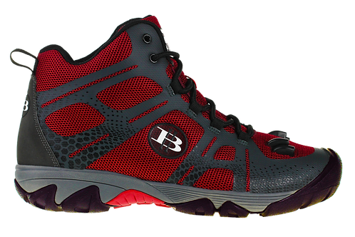 High Beam LED Light Hiking Boot (Red)