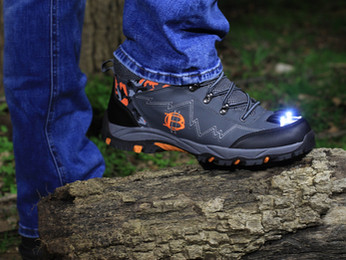 Cross-over led Hiking & Stealth footwear