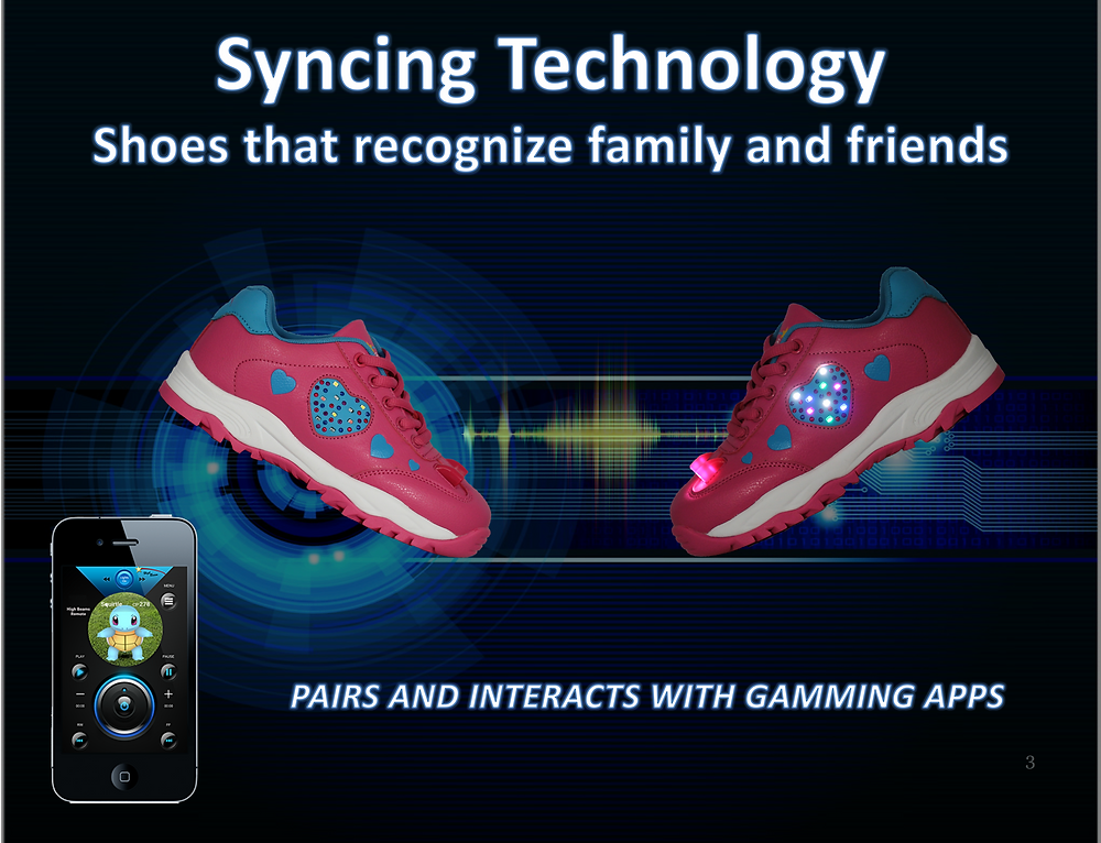 High Beam Smart Shoes Recognize Friends.