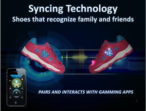 High Beam Syncing Led Kids Shoes