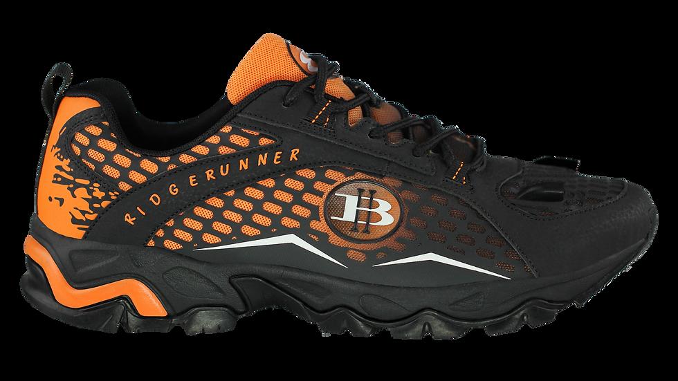 Men's Ridge Runner LED Hiking Shoes-(Orange/Black) Side View