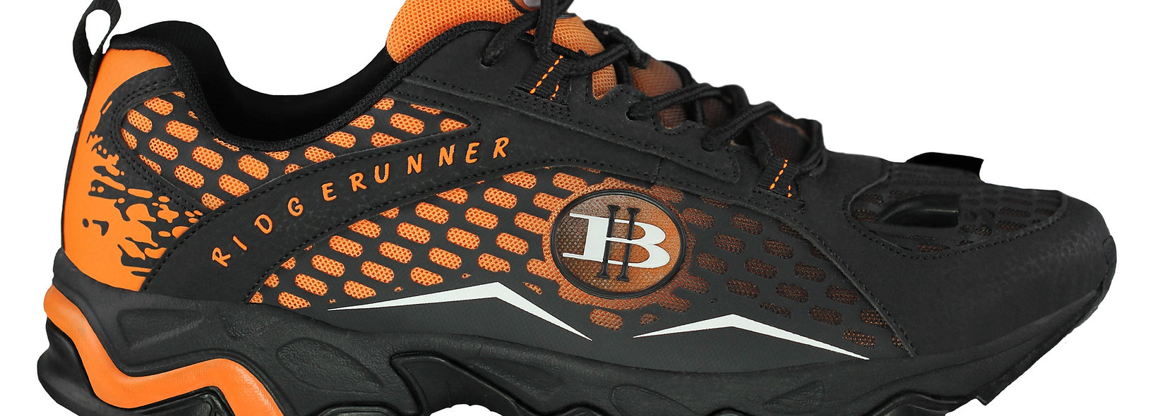 Women's Ridge Runner-LED Hiking Shoes (Orange)