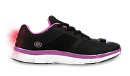 Women's Night Runner LED Light Shoe  (Black/Pink)