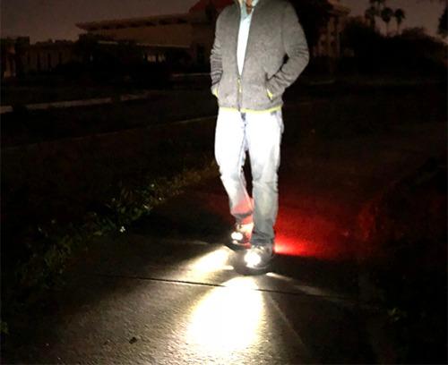 Men's LED Run-Walk (White)