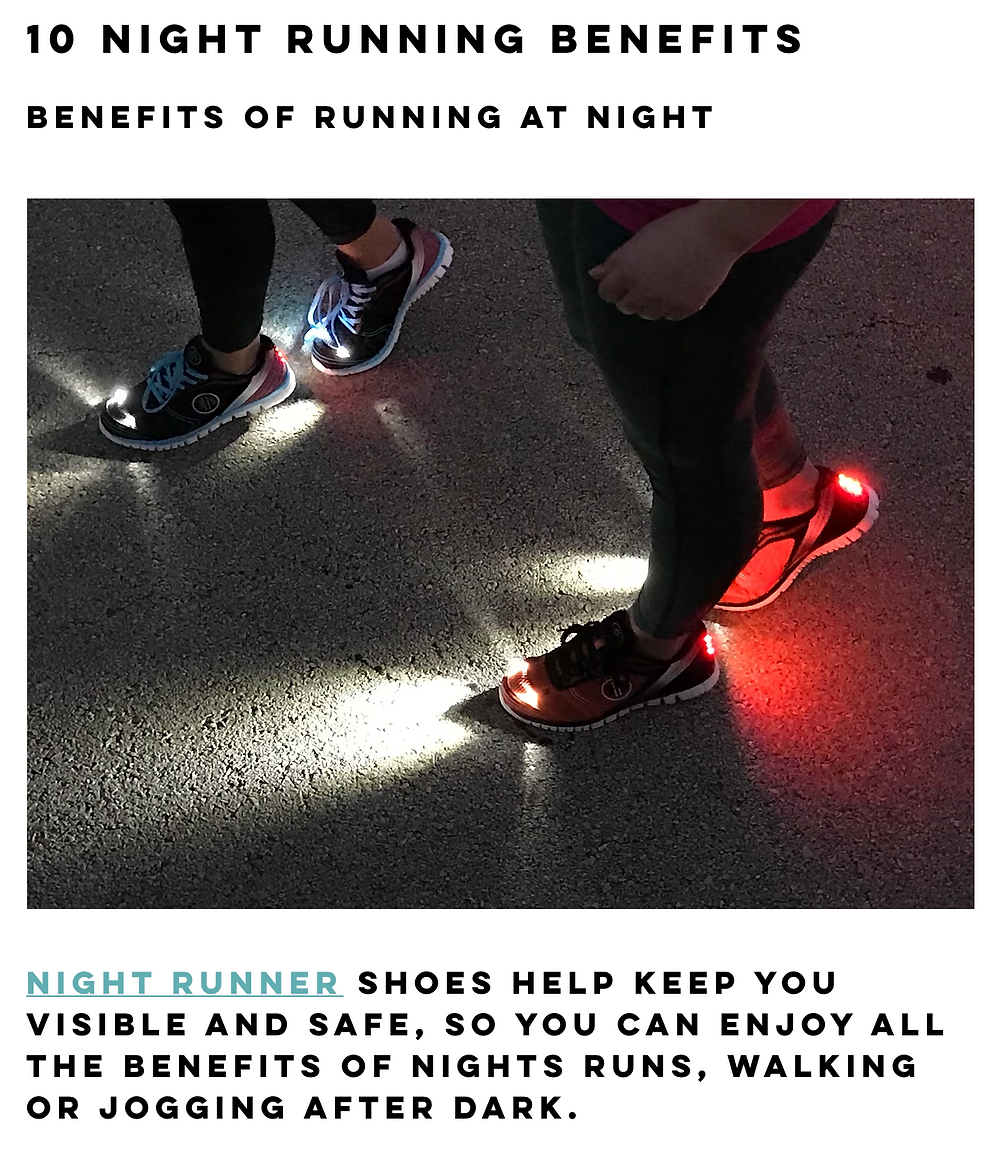 10 Benefits of Night Running