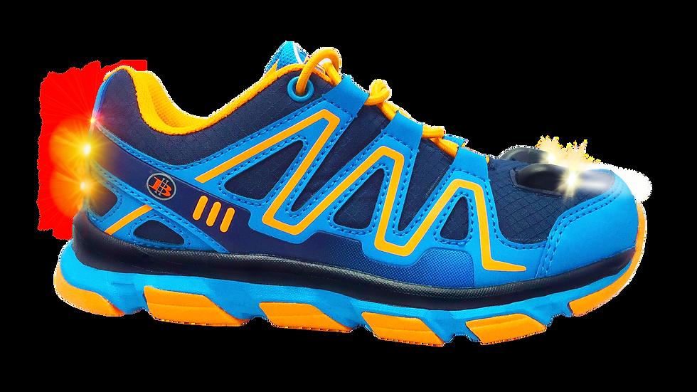 Explorer Kid's LED Light Shoes (Dark Blue)